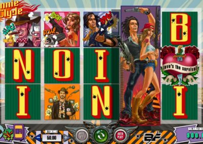 bonny and clyde slot game