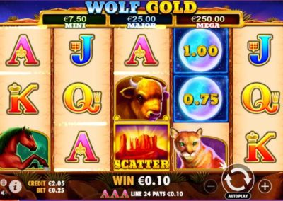 wolf-gold-slot-game from the pragmatic-play